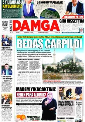 Gazete Damga - 16.11.2018 Sayfaları