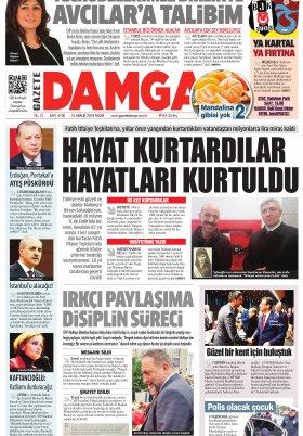 Gazete Damga - 16.12.2018 Sayfaları