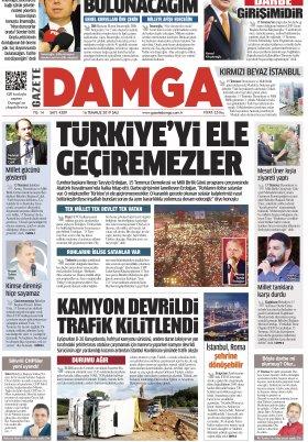 Gazete Damga - 16.07.2019 Sayfaları