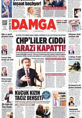 Gazete Damga - 17.01.2020 Sayfaları