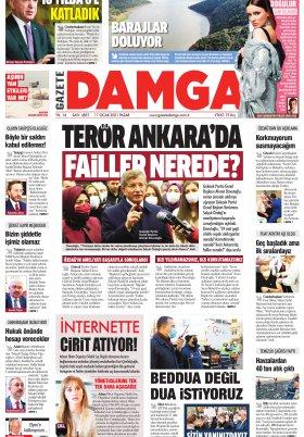 Gazete Damga - 17.01.2021 Sayfaları
