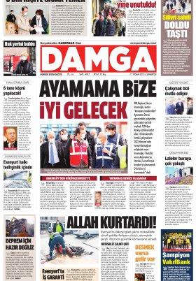 DAMGA Gazetesi - 17.04.2021 Sayfaları