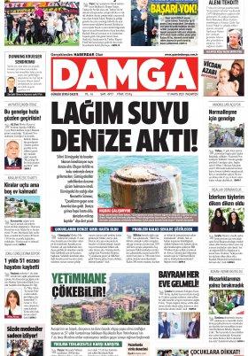DAMGA Gazetesi - 16.05.2021 Sayfaları