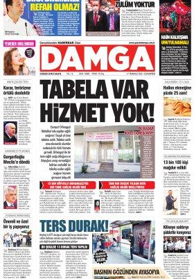 DAMGA Gazetesi - 17.07.2021 Sayfaları