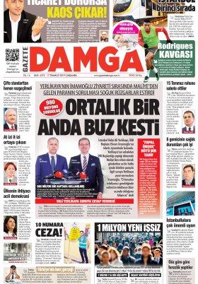 Gazete Damga - 17.07.2019 Sayfaları