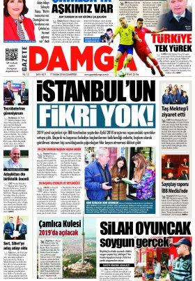 Gazete Damga - 17.11.2018 Sayfaları