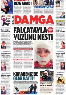 Gazete Damga - 18.01.2021 Sayfaları