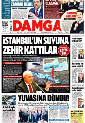 Gazete Damga - 18.02.2019 Sayfaları