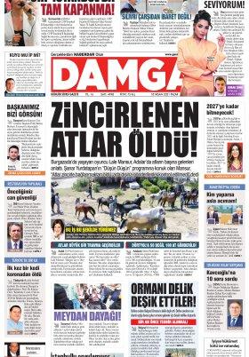 DAMGA Gazetesi - 18.04.2021 Sayfaları