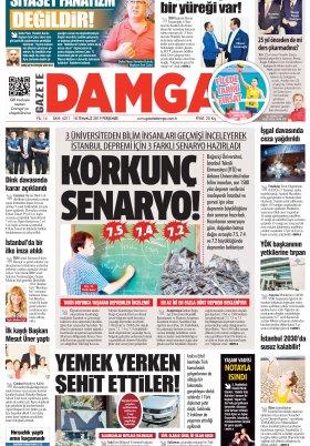 Gazete Damga - 18.07.2019 Sayfaları