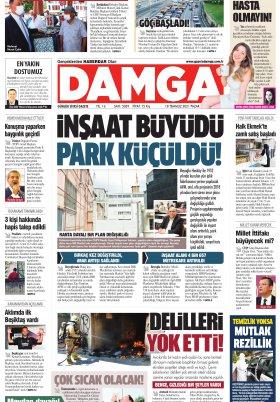 DAMGA Gazetesi - 18.07.2021 Sayfaları