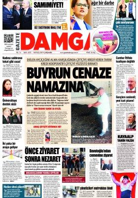 Gazete Damga - 18.09.2019 Sayfaları