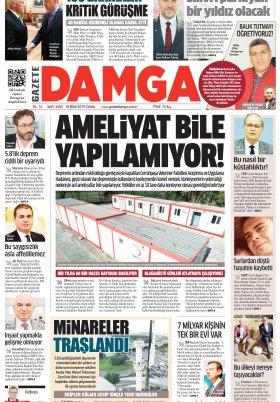 Gazete Damga - 18.10.2019 Sayfaları