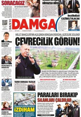 Gazete Damga - 18.11.2018 Sayfaları