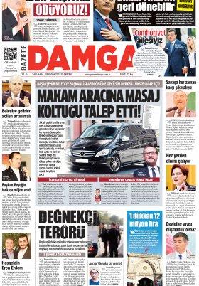 Gazete Damga - 18.11.2019 Sayfaları