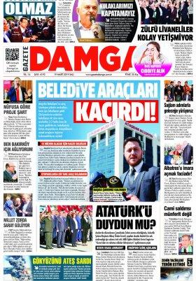 Gazete Damga - 19.03.2019 Sayfaları