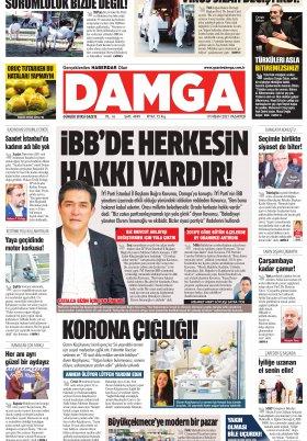 DAMGA Gazetesi - 19.04.2021 Sayfaları