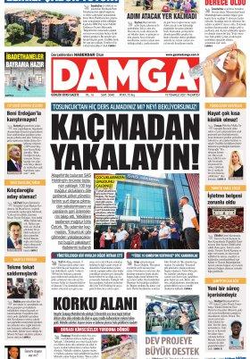 DAMGA Gazetesi - 19.07.2021 Sayfaları