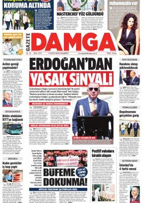 Gazete Damga - 19.09.2020 Sayfaları