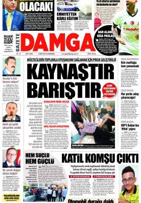 Gazete Damga - 18.10.2018 Sayfaları