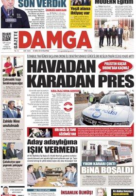 Gazete Damga - 22.10.2018 Sayfaları