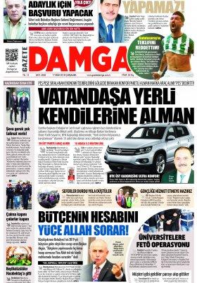 Gazete Damga - 17.10.2018 Sayfaları