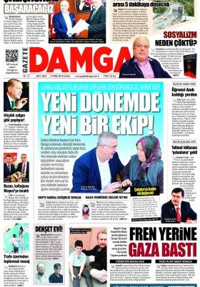 Gazete Damga - 19.10.2018 Sayfaları