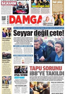 Gazete Damga - 20.01.2019 Sayfaları