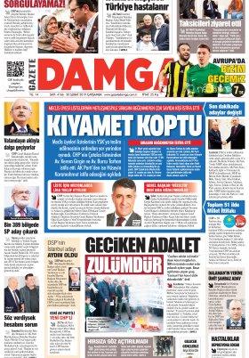Gazete Damga - 20.02.2019 Sayfaları