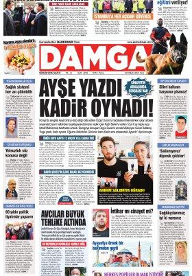 DAMGA Gazetesi - 20.04.2021 Sayfaları