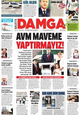 Gazete Damga - 20.06.2020 Sayfaları