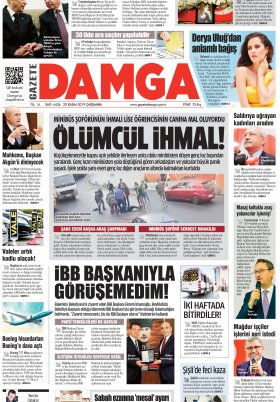 Gazete Damga - 20.11.2019 Sayfaları