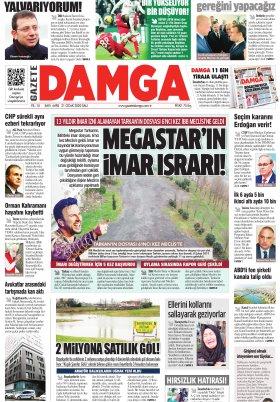 Gazete Damga - 21.01.2020 Sayfaları