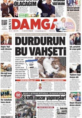 Gazete Damga - 21.03.2019 Sayfaları