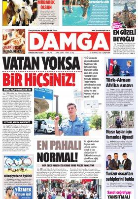 DAMGA Gazetesi - 21.07.2021 Sayfaları