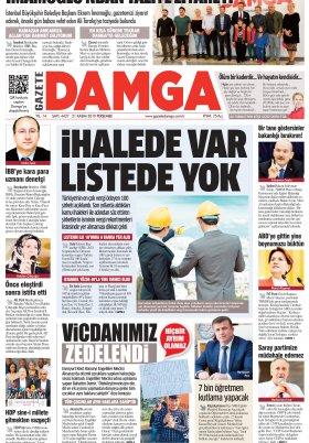 Gazete Damga - 21.11.2019 Sayfaları