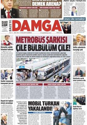 Gazete Damga - 21.09.2019 Sayfaları