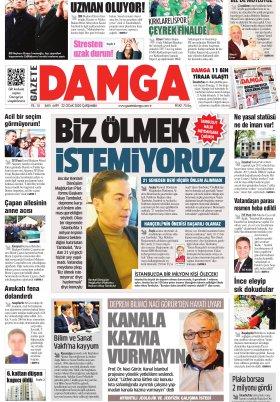 Gazete Damga - 22.01.2020 Sayfaları