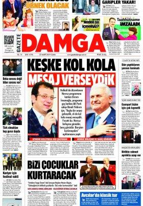 Gazete Damga - 22.03.2019 Sayfaları