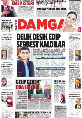 Gazete Damga - 22.06.2020 Sayfaları