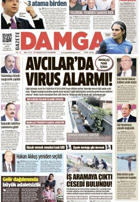 Gazete Damga - 22.07.2019 Sayfaları