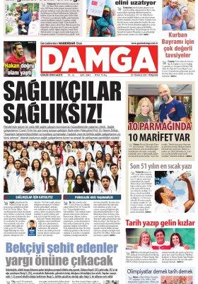DAMGA Gazetesi - 22.07.2021 Sayfaları