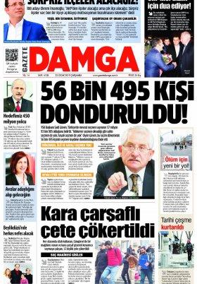 Gazete Damga - 23.01.2019 Sayfaları