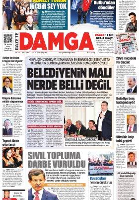 Gazete Damga - 23.01.2020 Sayfaları
