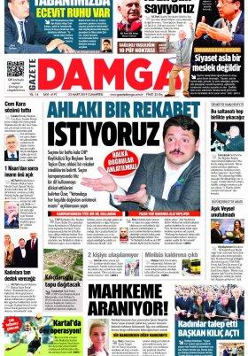 Gazete Damga - 23.03.2019 Sayfaları