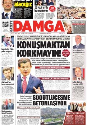 Gazete Damga - 22.05.2019 Sayfaları