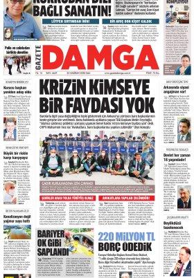 Gazete Damga - 23.06.2020 Sayfaları