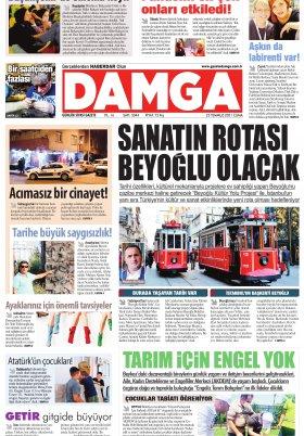 DAMGA Gazetesi - 23.07.2021 Sayfaları
