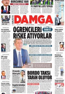Gazete Damga - 23.09.2020 Sayfaları