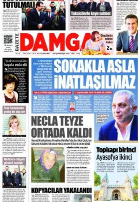 Gazete Damga - 24.01.2019 Sayfaları